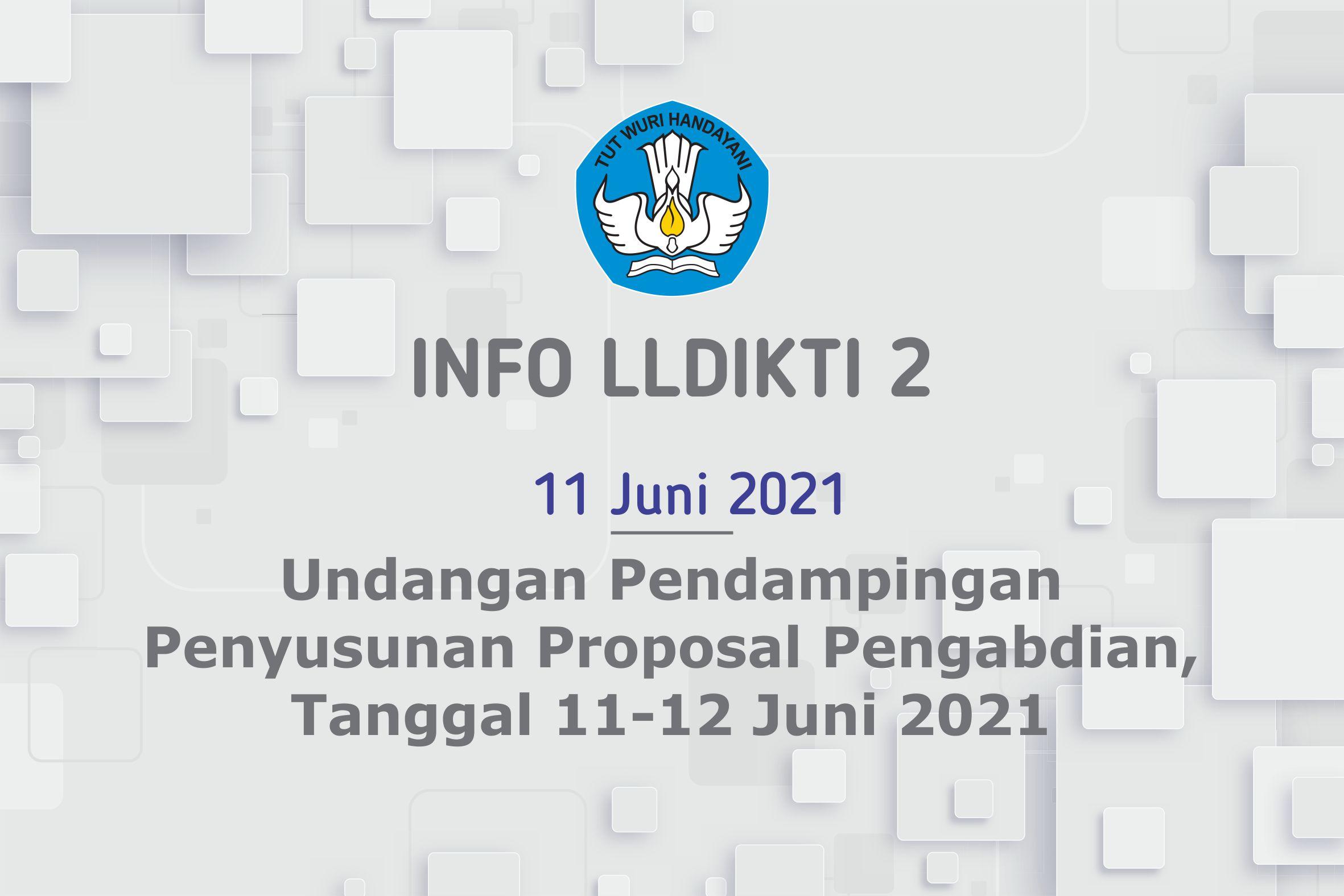 Undangan Pendampingan Penyusunan Proposal Pengabdian Tanggal 11-12 Juni 2021