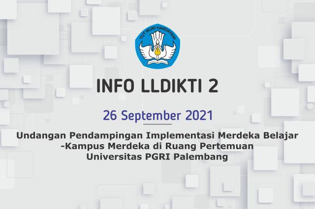 Undangan Pendampingan Implementasi Merdeka Belajar-Kampus Merdeka (MBKM), Tanggal 29-30 September 2021