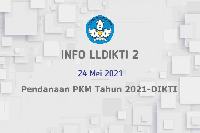 Pendanaan PKM Tahun 2021-DIKTI