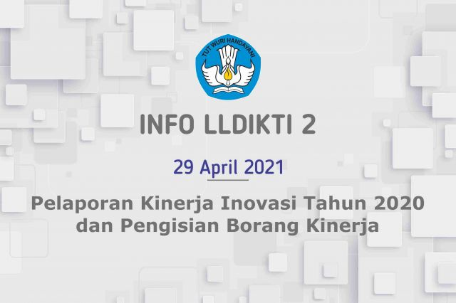 Pelaporan Kinerja Inovasi Tahun 2020 dan Pengisian Borang Kinerja