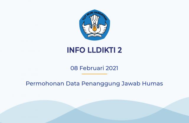 Permohonan Data Penanggung Jawab Humas