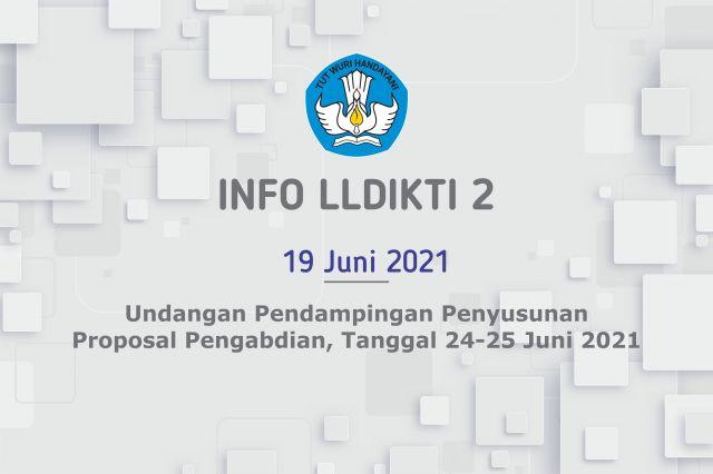 Undangan Pendampingan Penyusunan Proposal Pengabdian, Tanggal 24-25 Juni 2021