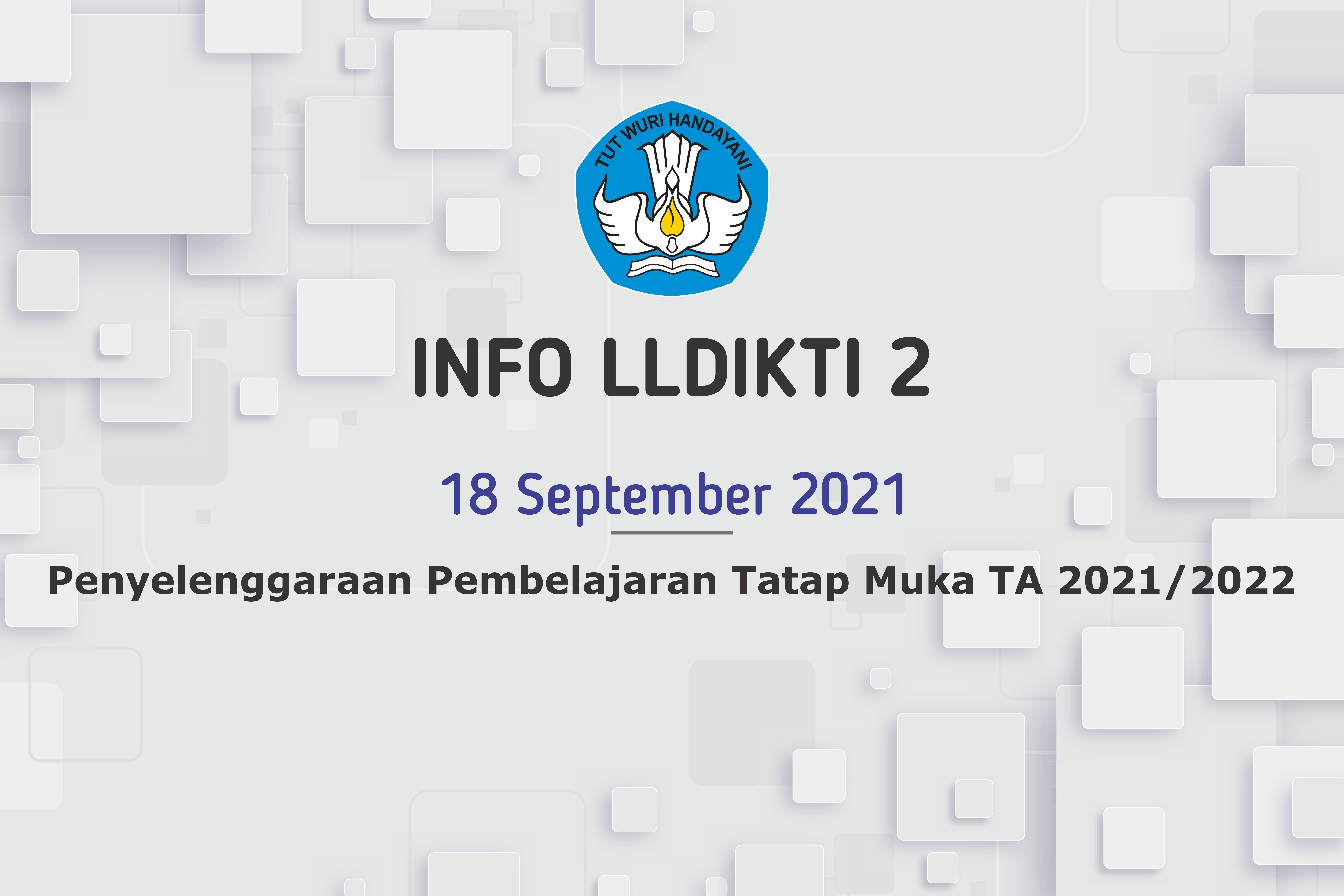 Penyelenggaraan Pembelajaran Tatap Muka TA 2021/2022