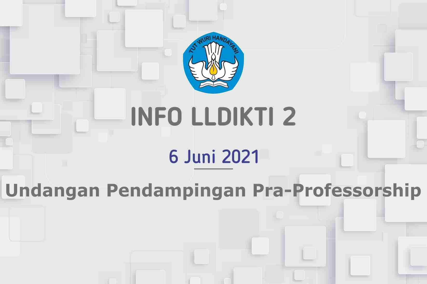 Undangan Pendampingan Pra-Professorship