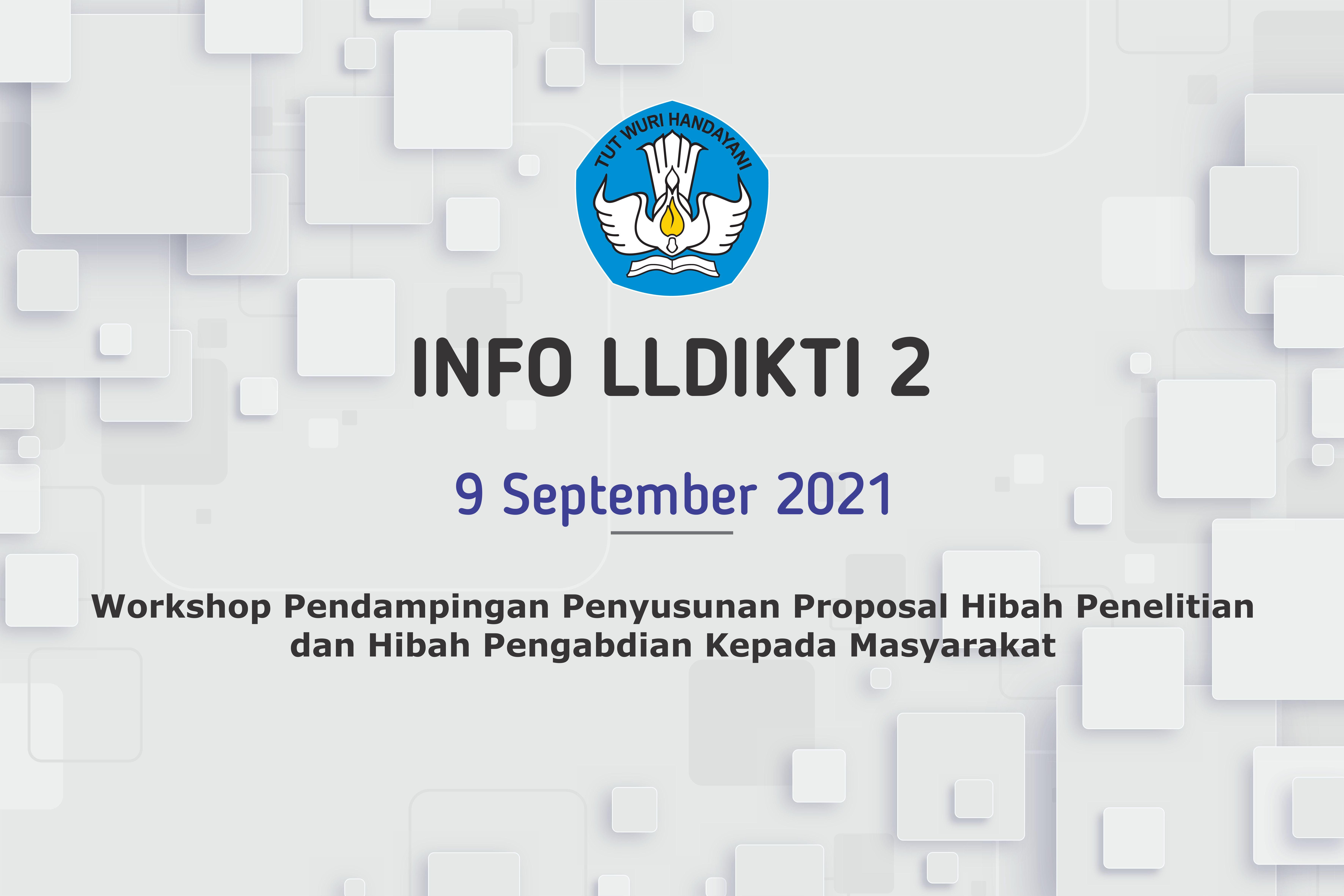 Workshop Pendampingan Penyusunan Proposal Hibah Penelitian  dan Hibah Pengabdian Kepada Masyarakat